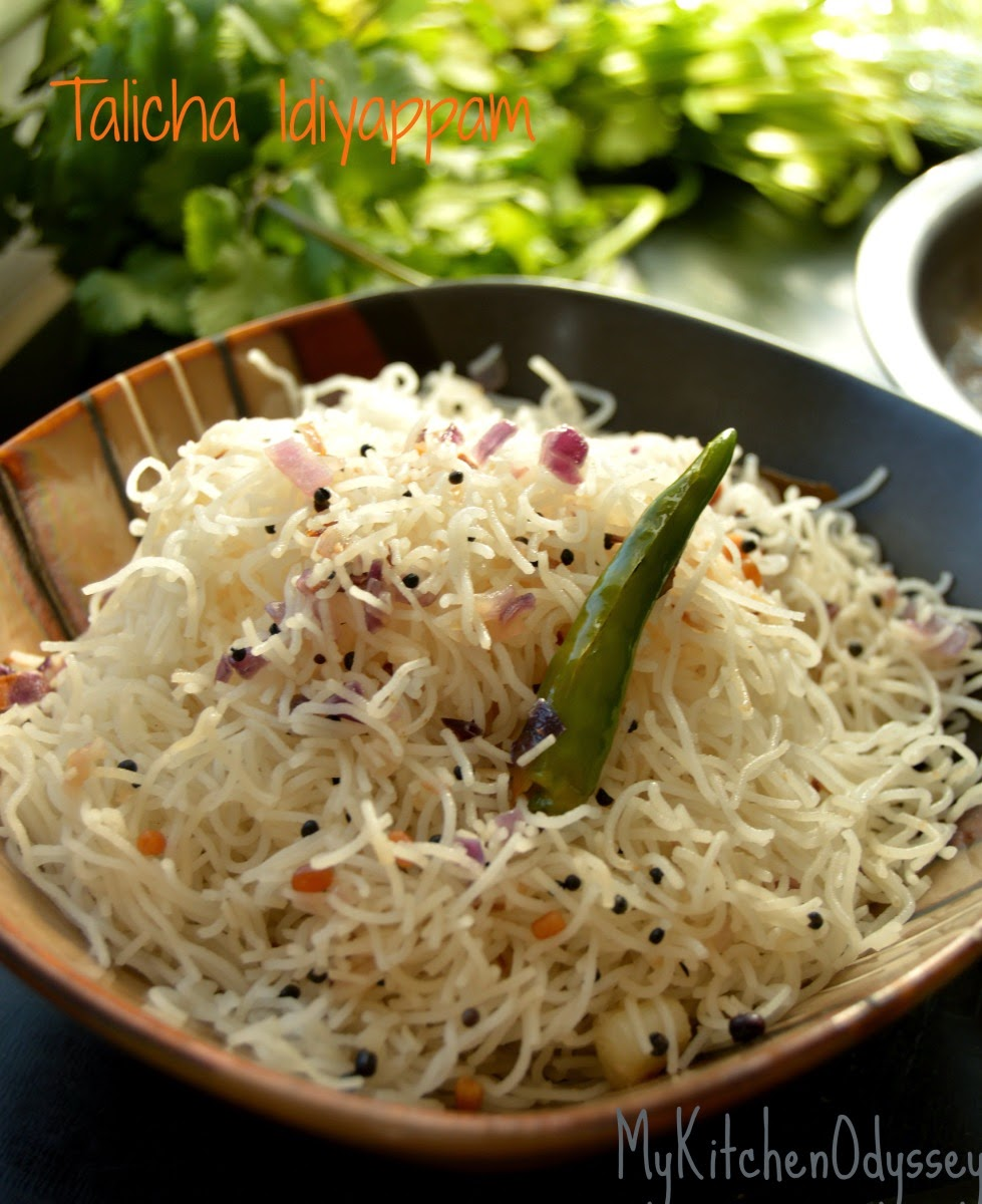how to make idiyappam1