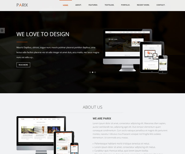 Parix-Responsive-Blogger-Template