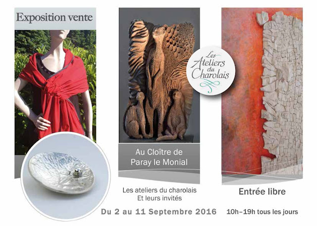 expostion septembre 2016 à Paray-le-Monial