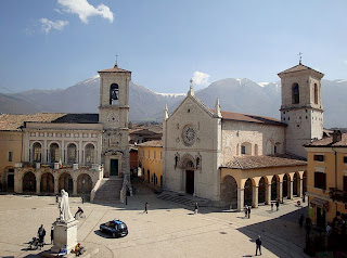 Attending Mass in the Basilica of St. Benedict in Norcia