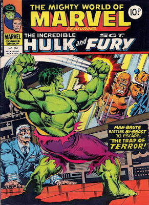 Mighty World of Marvel #284, Hulk vs the Bi-Beast