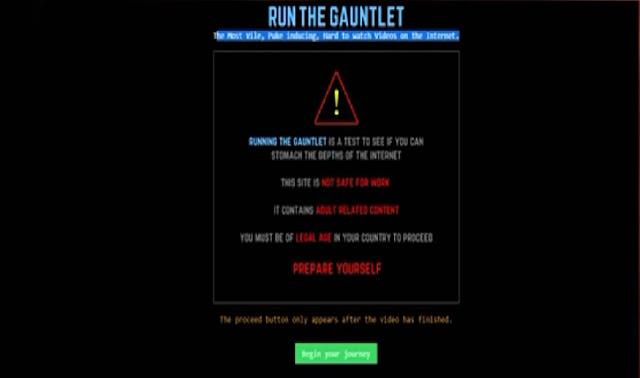 Runthegauntlet Situs Terlarang Dan Paling Mengerikan Di Internet Yang Belum Diblokir