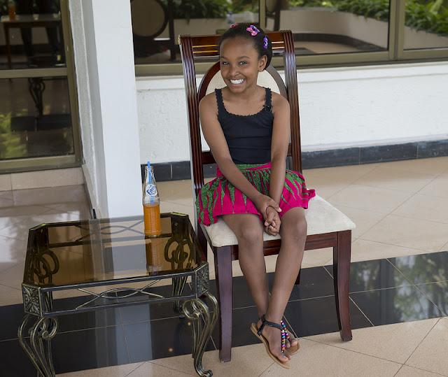 Wendy Waeni, Umwana w'Umunyakenyakazi ufite impano idasanzwe mu mikino ngororamubiri.