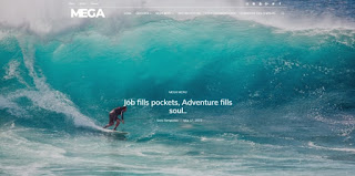 Mega blogger template 2018