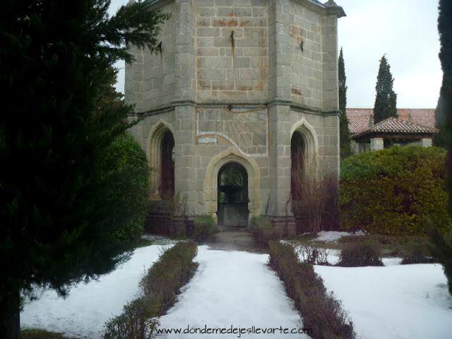 Patio del Monasterio del Paular