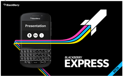 Actualizado BlackBerry Express (beta) para BlackBerry 10 v. 1.1.0.112