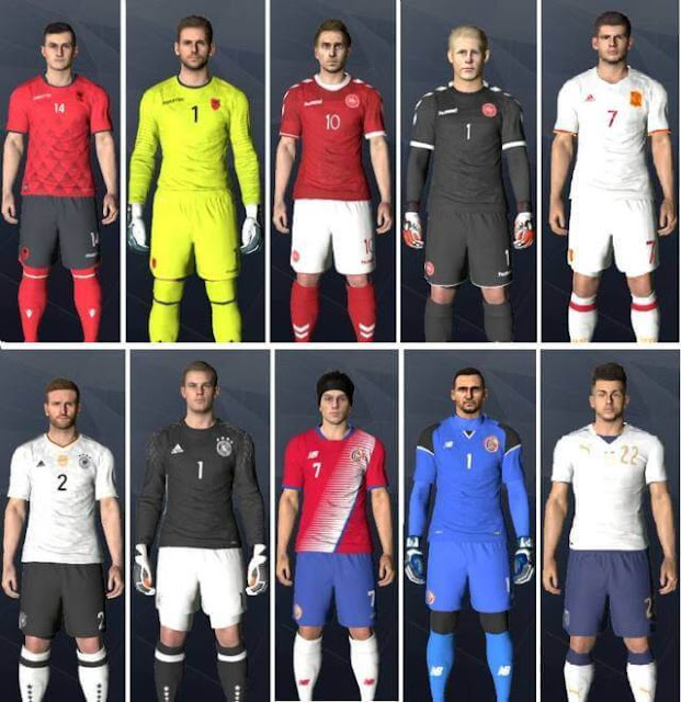 National Team Kitpack 2017-18 - PES 2017 - PATCH PES | New