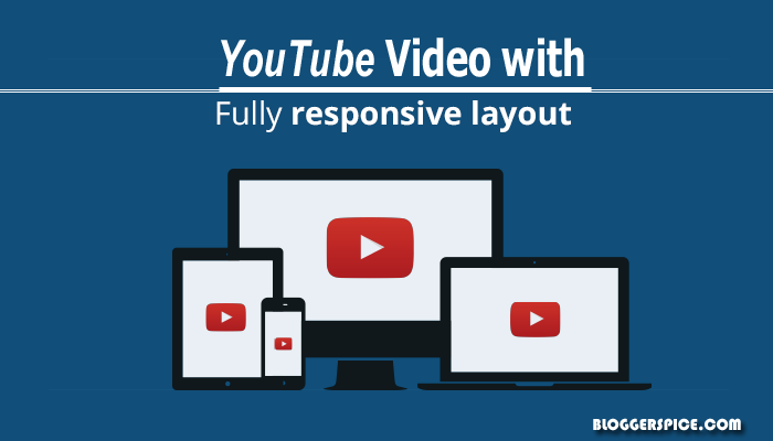 responsive YouTube video