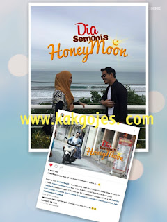 sinopsis dia semanis honeymoon, ost dia semanis honeymoon, barisan pelakon dia semanis honeymoon, lirik lagu gadis tiga bulan, ost dia semanis honeymoon, dia semanis honey, dia semanis honey raya
