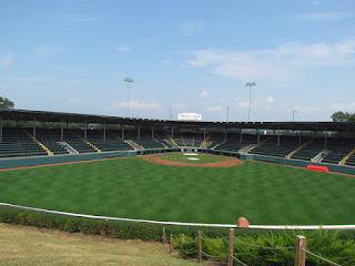 Center to Home. Lamade Stadium