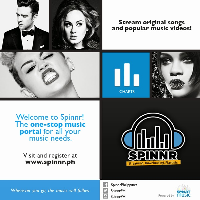 Fashion PULIS: Smart Music Launches SPINNR - PH's First Mobile