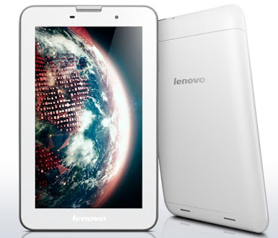 Lenovo IdeaTab A3000 Specifications - LAUNCH Announced 2013, January DISPLAY Type IPS LCD capacitive touchscreen, 16M colors Size 7.0 inches (~59.2% screen-to-body ratio) Resolution 600 x 1024 pixels (~170 ppi pixel density) Multitouch Yes BODY Dimensions 194 x 120 x 11 mm (7.64 x 4.72 x 0.43 in) Weight 339 g (11.96 oz) SIM Single SIM or Dual SIM (dual stand-by) PLATFORM OS Android OS, v4.1 (Jelly Bean), upgradable to v4.2 (Jelly Bean) CPU Quad-core 1.2 GHz Cortex-A7 Chipset Mediatek MT8125 GPU PowerVR SGX544 MEMORY Card slot microSD, up to 64 GB (dedicated slot) Internal 16 GB, 1 GB RAM CAMERA Primary 5 MP, autofocus Secondary VGA Features Geo-tagging Video 1080p@30fps NETWORK Technology GSM / HSPA 2G bands GSM 850 / 900 / 1800 / 1900 - SIM 1 & SIM 2 (dual-SIM model only) 3G bands HSDPA (optional) Speed HSPA GPRS Yes EDGE Yes COMMS WLAN Wi-Fi 802.11 b/g/n, hotspot GPS Yes, with A-GPS USB microUSB v2.0, USB Host Radio No Bluetooth v4.0 FEATURES Sensors Accelerometer Messaging Email, Push Email, IM Browser HTML Java No SOUND Alert types Vibration; MP3, WAV ringtones Loudspeaker Yes, with stereo speakers 3.5mm jack Yes  - Active noise cancellation with dedicated mic BATTERY  Non-removable Li-Po 3500 mAh battery Stand-by Up to 336 h Talk time Up to 8 h Music play  MISC Colors Black  - MP3/WAV/WMA/AAC player - MP4/H.264 player - Document viewer - Photo viewer/editor
