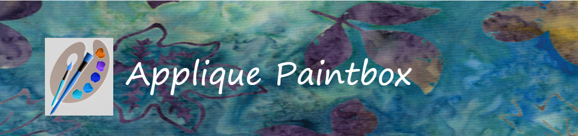 APPLIQUE PAINTBOX-I LOVE APPLIQUE
