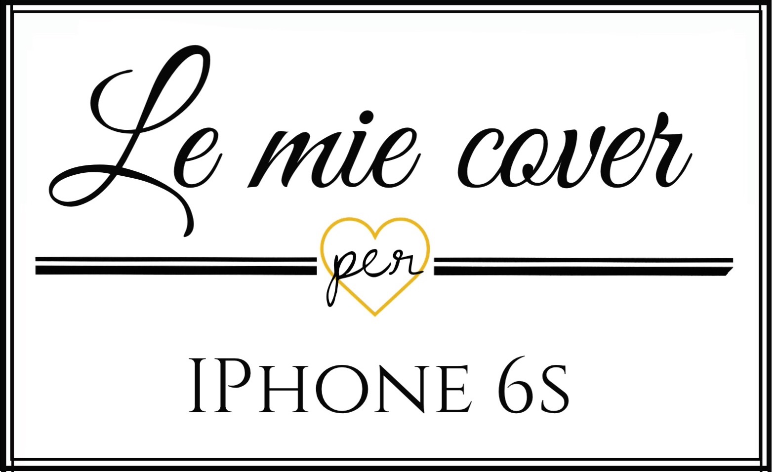 le mie cover per iphone 6s plus