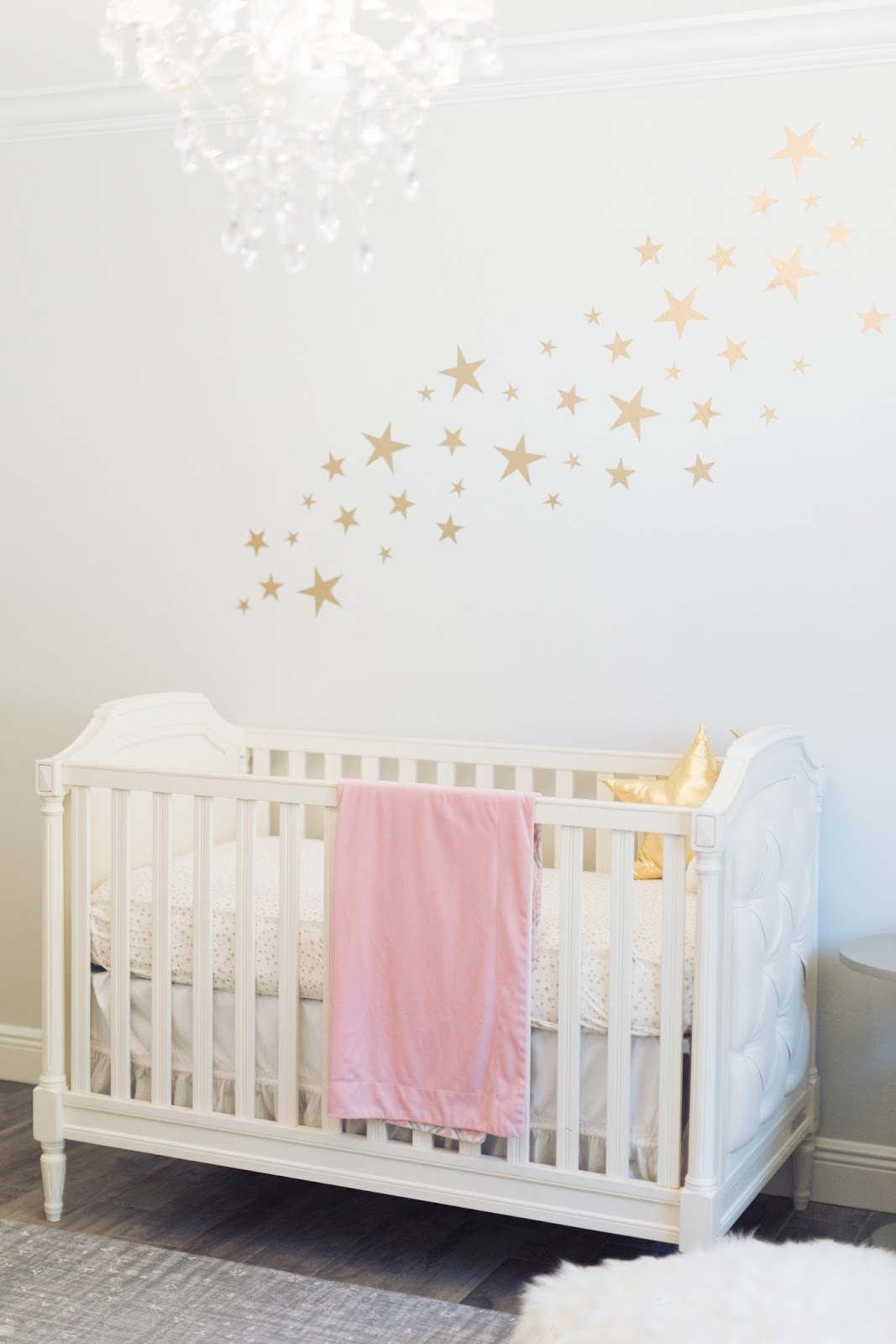 Baby Girl Nursery ideas from popular Florida blogger, The Celenration Stylist