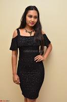 South Actress Amulya in short black dress at Kalamandir Foundation 7th anniversary Celebrations ~  Actress Galleries 036.JPG