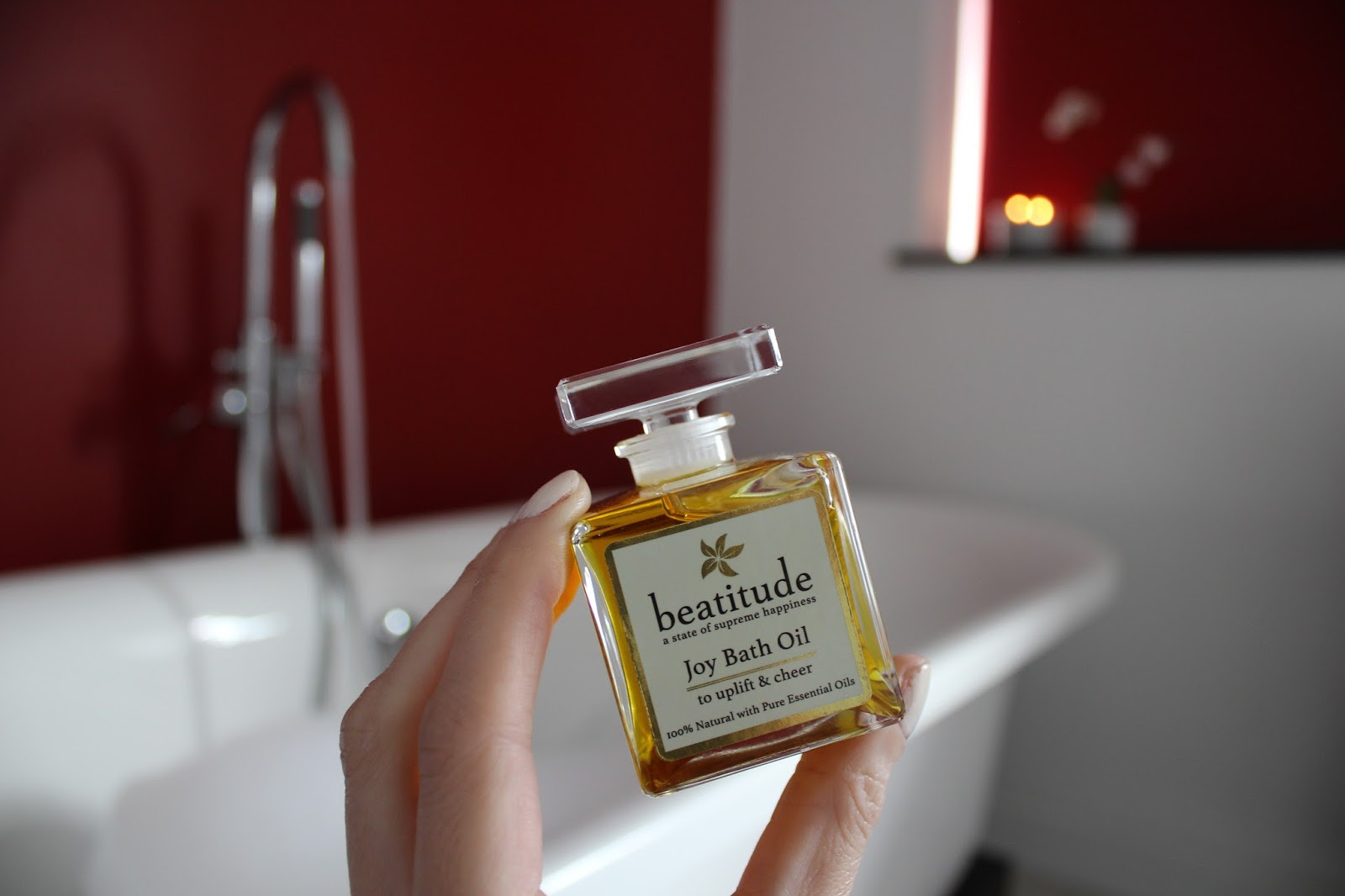 Review of Joy Bath Oil by Beatitude Products - 2