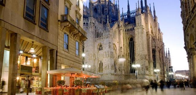 Hotéis na zona turística de Milão