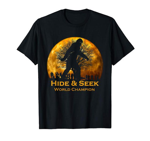 Reto Vintage Hide and Seek World Champion Bigfoot t shirt