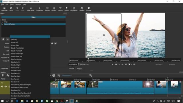 Aplikasi editor video film yang bagus dengan Shotcut