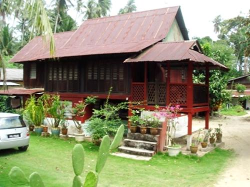 Gambar Desain Teras Rumah  Kampung  Minimalis di Rebanas