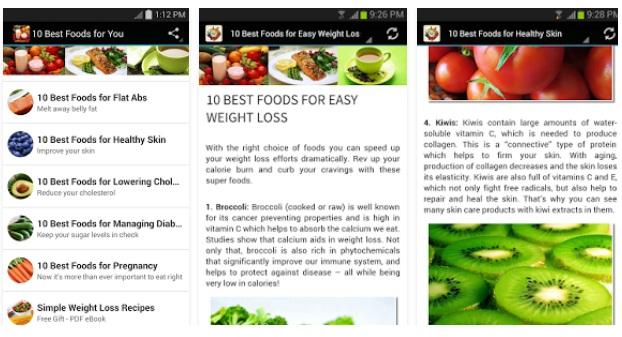 10 Aplikasi Diet Terbaik untuk Android!
