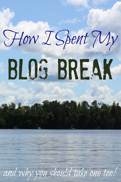 "Everyone talks about ""what they learned on their blog break"" but what if you learn nothing, and just spend some time with your family and friends ""being""?!"