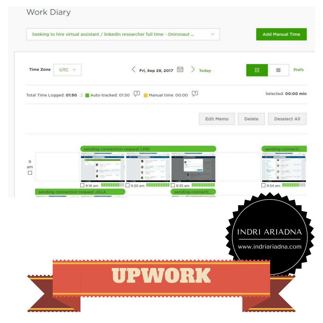work diary upwork