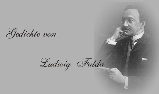 Bild des Dichters Ludwig Fulda