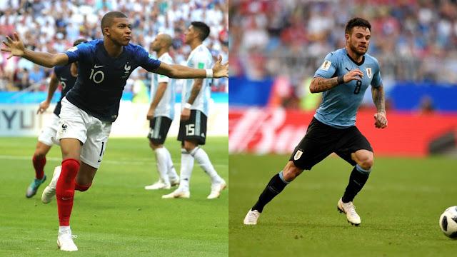 Prediksi Bola Uruguay vs Prancis Piala Dunia 2018