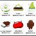 جميع نسخ الاندرويد التي تم اصدارها من قبل شركة جوجل (اي نسخة تمتلك انت)