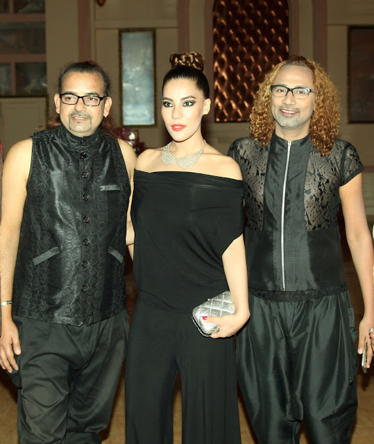 buzy, ajay sinha and tara viva