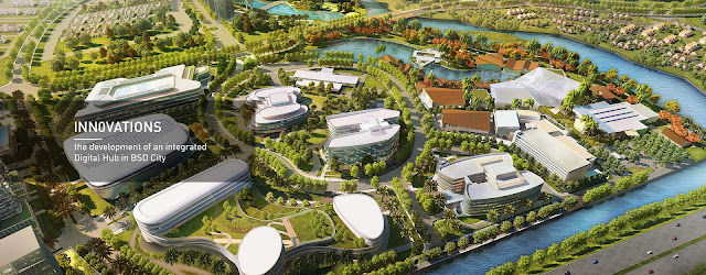 Digital Hub BSD City Sillicon Valley nya Indonesia