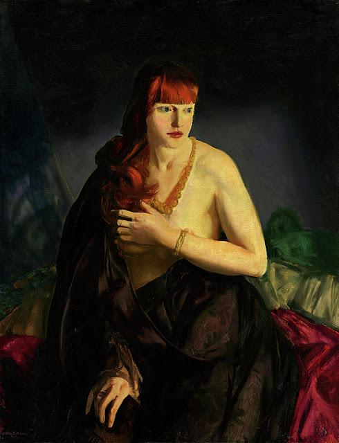 George Wesley Bellows - Обнаженная с рыжими волосами