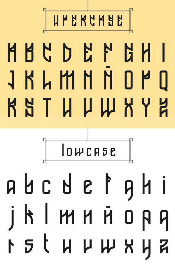 Font Terbaru Untuk Desain Grafis - Beat Font Letters