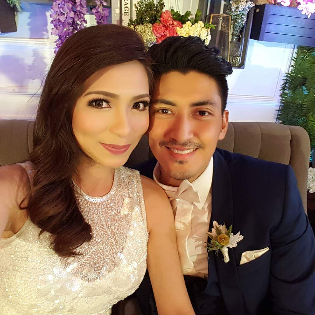 Regine Angeles and Van Victor Leano wedding photos