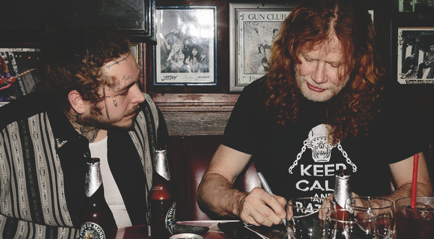 dave mustaine y post malone