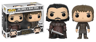 Funko Pop! Jon Snow & Bran Stark