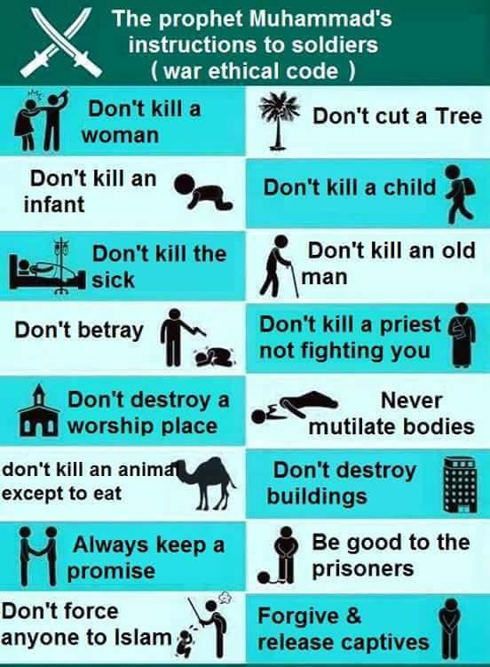 Zasady wojny zgodnie z Koranem