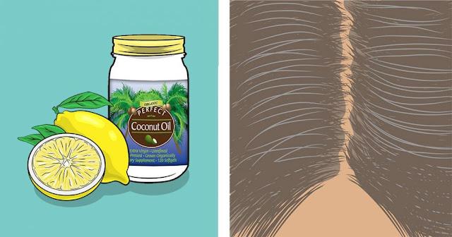 Λεμόνι + Λάδι Καρύδας