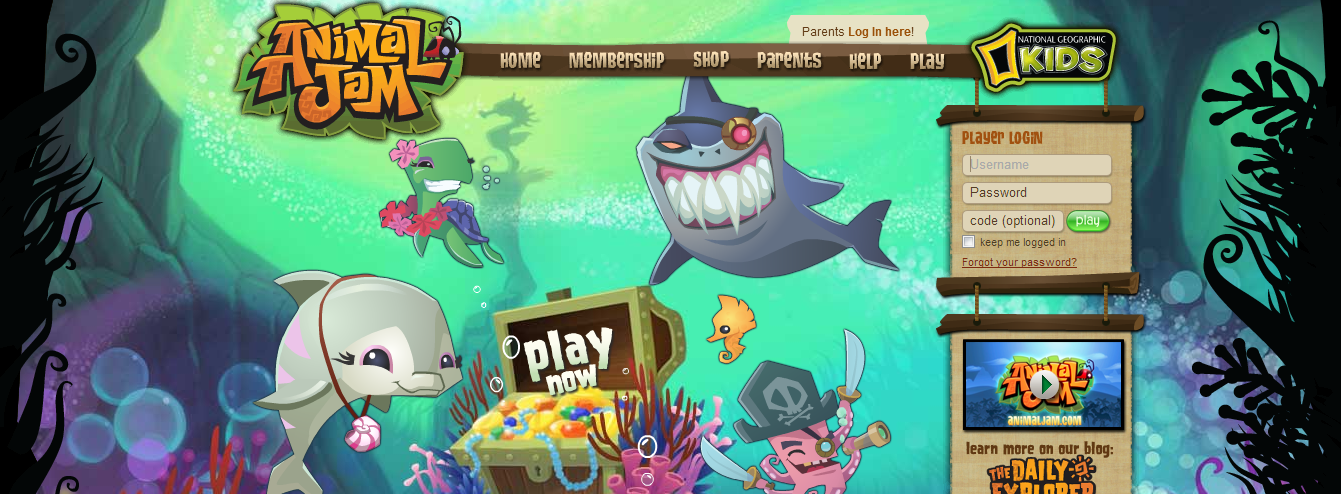 All for you and me: There animal jam codes membership