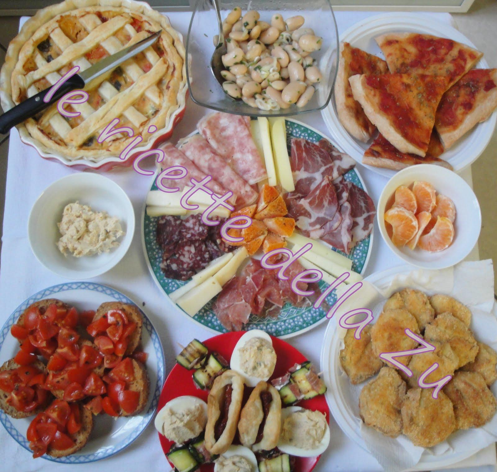 Le ricette della zu aperitivo preparato in casa for Idee in casa