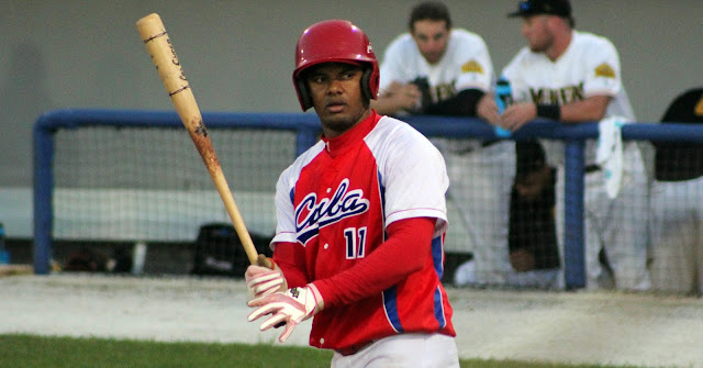 El Cuba tuvo su tercer jonrón de la Liga Can-Am, esta vez desde el madero de Yosvani Alarcón