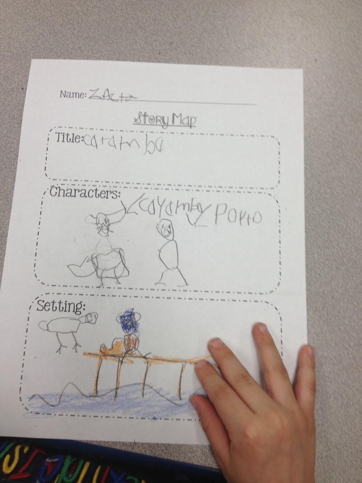 Confessions Of A Kinder Teacher Story Map A Kinder Kind