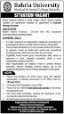 Jobs in Bahria University Medical & Dental College, Karachi