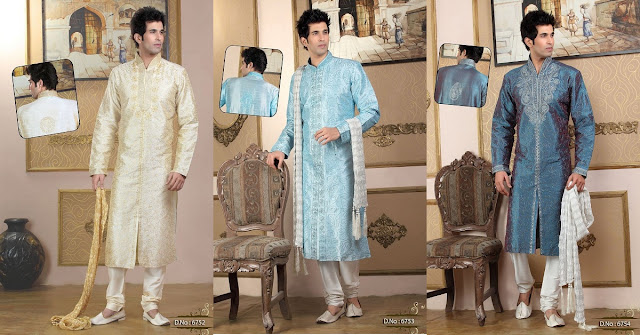 Party Wear Options for Mens Online | Aristocratic Look With Designer Kurta Pyjama