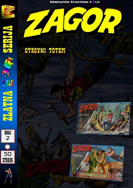 Otrovni Totem (Kolor) - Kompletne Avanture ZS - Zagor