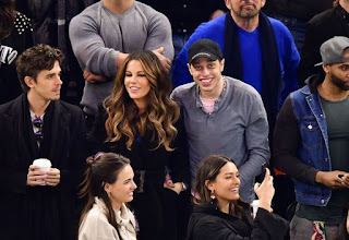 Comedian Pete Davidson and Kate Beckinsale