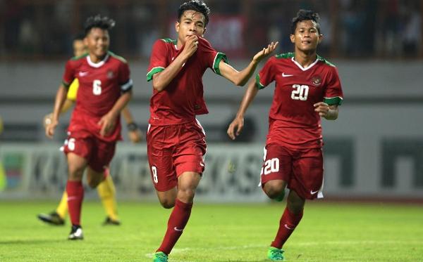 Timnas Indonesia U-16 Bantai Myanmar 4-1 di Laga Perdana Tien Phong Plastic Cup 2017