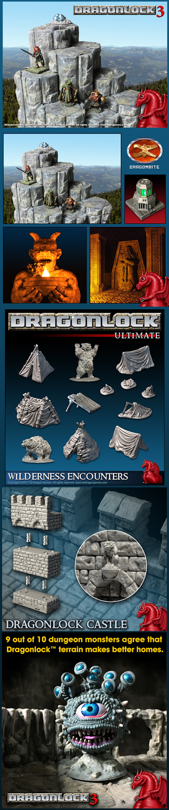 A partial peek at the Dragonlock 3 Kickstarter from Fat Dragon Games